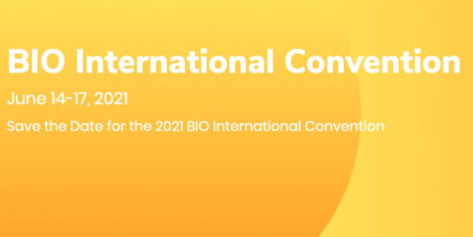 Save the Date for BIO 2021