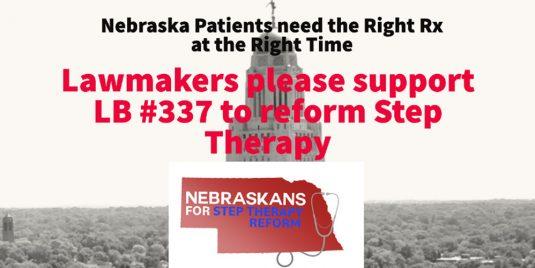 Nebraska Lawmaker Introduces Legislation to Improve Patient Access to Critical Prescription Medications