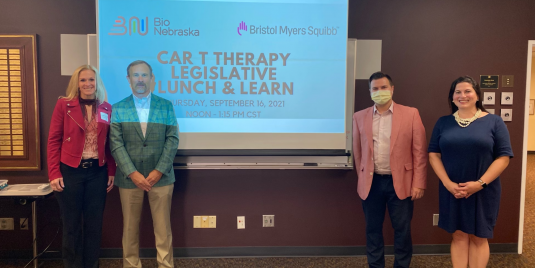 Bio Nebraska and Bristol Myers Squibb host CAR T Cell Therapy event